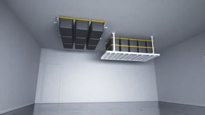Garage ceiling storage racks overhead safe organization for Sale in Scottsdale, AZ