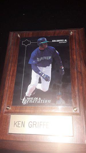 Framed Ken Griffey jr. Baseball card for Sale in North Las Vegas, NV