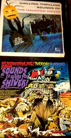 Halloween Music Blood Curdling TERROR & Chilling Thrilling 1964-1974 LP Vinyl Record LOT for Sale in Riverside, CA