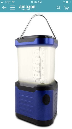 LED Super Bright Deluxe Camping Lantern with Compass ) for Sale in Chicago, IL