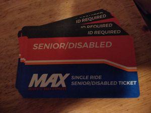 Max bus passes for Sale in Modesto, CA