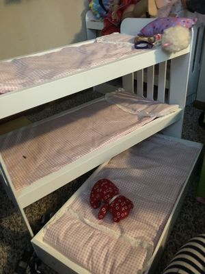 Bunk bed for American girl doll-triple for Sale in Reynoldsburg, OH