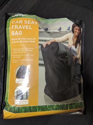 Jeep Infant Car Seat Travel Bag for Sale in Pompano Beach, FL