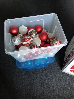 New Christmas Ornaments/ Spheres (2 Boxes for $40) for Sale in Long Beach, CA