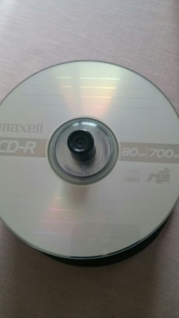 Maxell CD-R 80 min/700 mg plus Sleeves