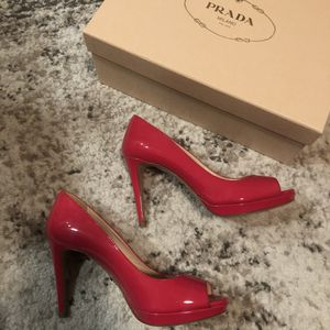 Prada Peeptoe Pumps size 36 for Sale in Seattle, WA
