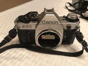 Canon AE-1 Program 35mm SLR film camera for Sale in Homestead, FL