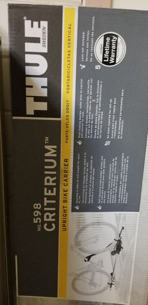 Thule 598 criterium bike rack carrier for Sale in Redmond, OR