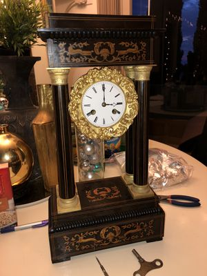 Antique French Portico Clock for Sale in Los Angeles, CA