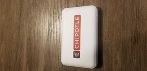 Chipotle Portable Charger Brand New never Used for Sale in Forest Heights, MD