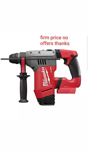 Milwaukee 2715-20 M18 FUEL 1-1/8 in. SDS Plus Rotary Hammer battery or charger not included for Sale in Upper Marlboro, MD
