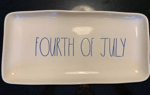 Rae Dunn 4th Of July Tray for Sale in Auburn, NY