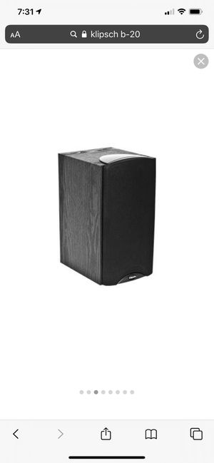 Klipsch B-20 Speakers for Sale in Arlington, VA