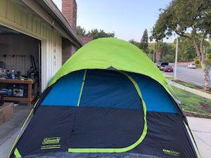 "Coleman 10 x 10 6 Person ""Dark Room"" Fast Pitch Tent for Sale in Brea, CA"