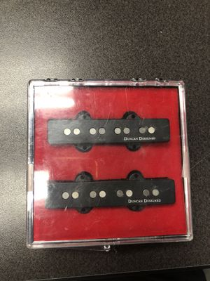 Squier by Fender Duncan Designed 4 string Jazz Bass Pick ups for Sale in Torrance, CA