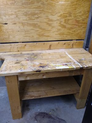 FREE Sturdy Workbench for Sale in Herndon, VA