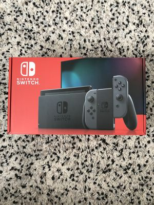Nintendo Switch V2 with Gray Joy-Con 🔥 for Sale in Des Moines, WA