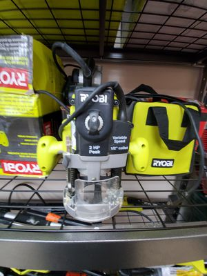 Ryobi 14amp router only $50!!!🔥🧨 for Sale in Fort Worth, TX