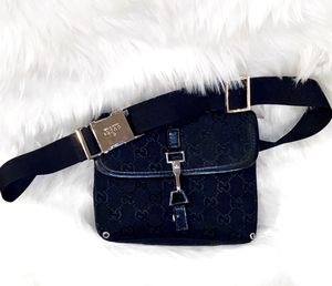 Black Designer Waist Bag for Sale in Chandler, AZ