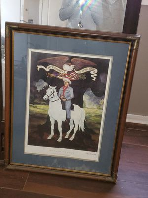 Old picture of Ronald Reagan for Sale in Baton Rouge, LA