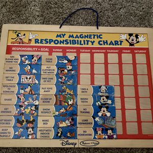 Mickey Mouse My Magnetic Responsibility Chart for Sale in Rancho Cucamonga, CA