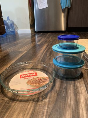 Pyrex containers for Sale in San Antonio, TX