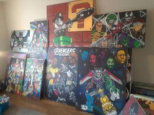 ORGINAL ARTWORK BY DOSSOME for Sale in Atlanta, GA