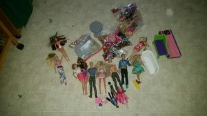 Barbies and accessories bundle for Sale in Orange, CA
