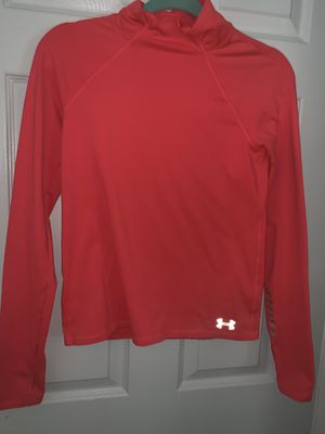 Under Armor Pink long sleeve shirt (size small/large kids) for Sale in Florissant, MO