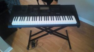 Casio CTK 6200 keyboard with stand for Sale in Spring Hill, FL