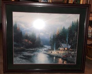 End to a perfect day II by Thomas Kincaid for Sale in Lake Forest Park, WA