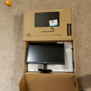 TWO 19 INCH HP V21 MONITORS for Sale in Everett, WA