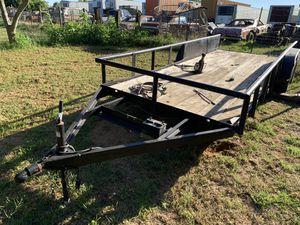Utility Trailer-16' Heavy Duty for Sale in Dallas, TX