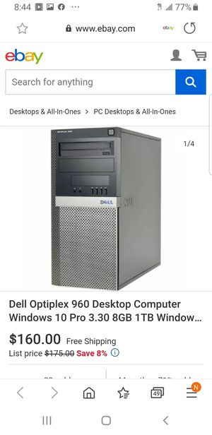 VERY NICE DELL FOR CHEAP $100 for Sale in Lowell, MA