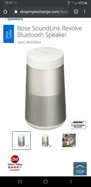 Bose bluetooth speaker for Sale in Joint Base Lewis-McChord, WA