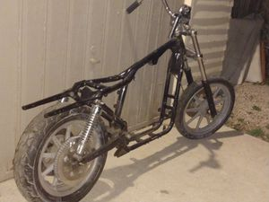 Harley Davidson rolling chasise frame for Sale in Denver, CO
