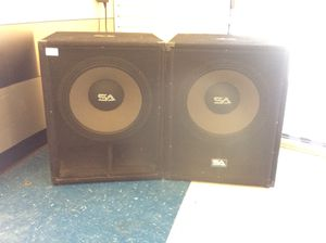 "Pair Seismic Auto 18"" Speaker for Sale in Kissimmee, FL"