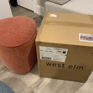 West Elm Pebble Ottoman - Small for Sale in Somerville, MA