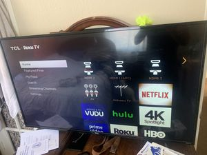55in TCL/ROKU tv for Sale in Ventura, CA