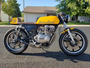 1977 Yamaha XS500 Cafe Racer Vintage Motorcycle for Sale in Glendale, AZ