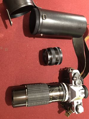 Canon AE-1 Camera with 75-250mm F/4-5, and 52mm lenses for Sale in Las Vegas, NV