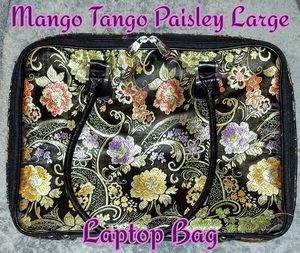 Mango Tango Cute Silky Paisley Laptop Bag for Sale in Romeoville, IL