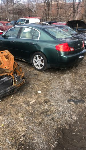 2003 infiniti g35 parts for Sale in Highland Park, MI