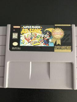 Super Mario All-Stars Super Nintendo Game for Sale in Virginia Beach,  VA