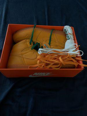 Air Jordan retro 1 orange Gatorade Size 12 for Sale in Zephyrhills, FL