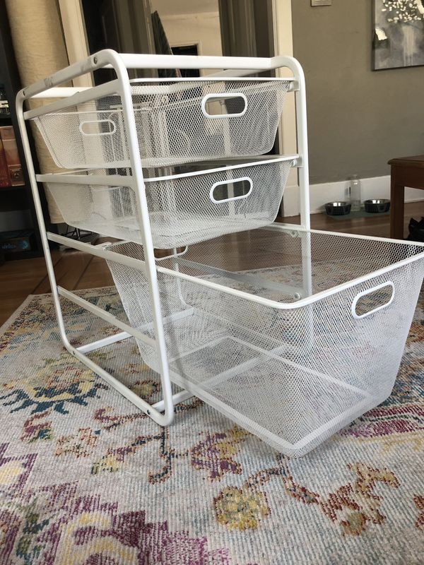 Metal Mesh Storage Drawers For Sale In Seattle Wa Offerup