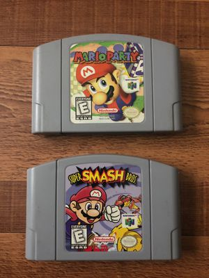Super smash bros , Mario party for 64 for Sale in Cheshire, CT