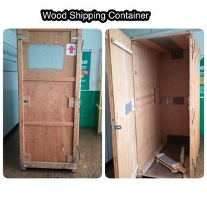 Wood Container for Sale in Detroit, MI