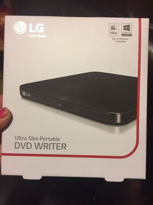 $45-BRAND NEW LG Ultra Slim Portable DVD Writer--paid $70-- ordered online never even opened box - great to use with those Laptop/Chromebook/Notebook for Sale in Yakima, WA