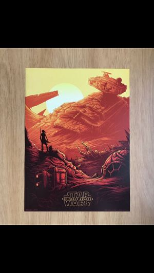 """New STAR WARS: THE FORCE AWAKENS EXCLUSIVE AMC IMAX 9.5"""" X 13"""" POSTER (#1 OF 4), for Sale in Merrick, NY"""